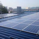 太陽光発電開始